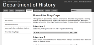 Humanities Story Corps