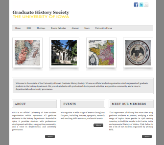 GHS Website Relaunch; First HASTAC Post