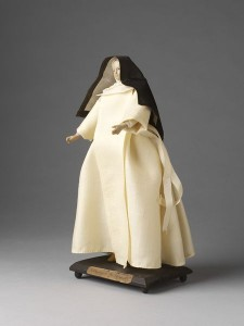 Premonstratensian Doll, early 19th c. Victoria and Albert Museum, London.