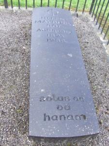 Helen Maybury Roe's gravestone, Mountrath. [Image source]