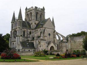 Abbey church of Saint-Yved, Braine. [Source]